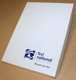 First National Presentation boxes